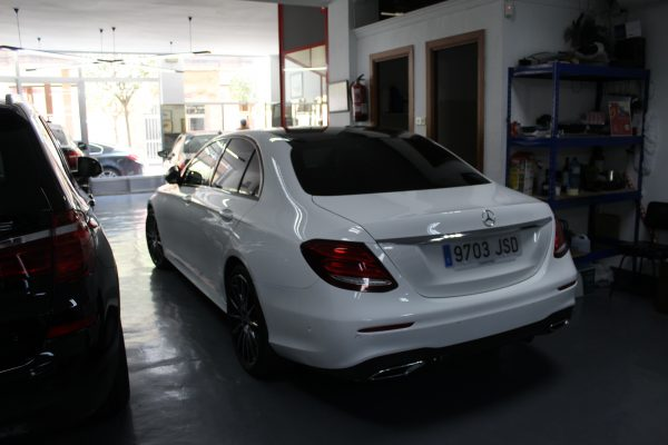 Parte trasera Mercedes -Expomovil