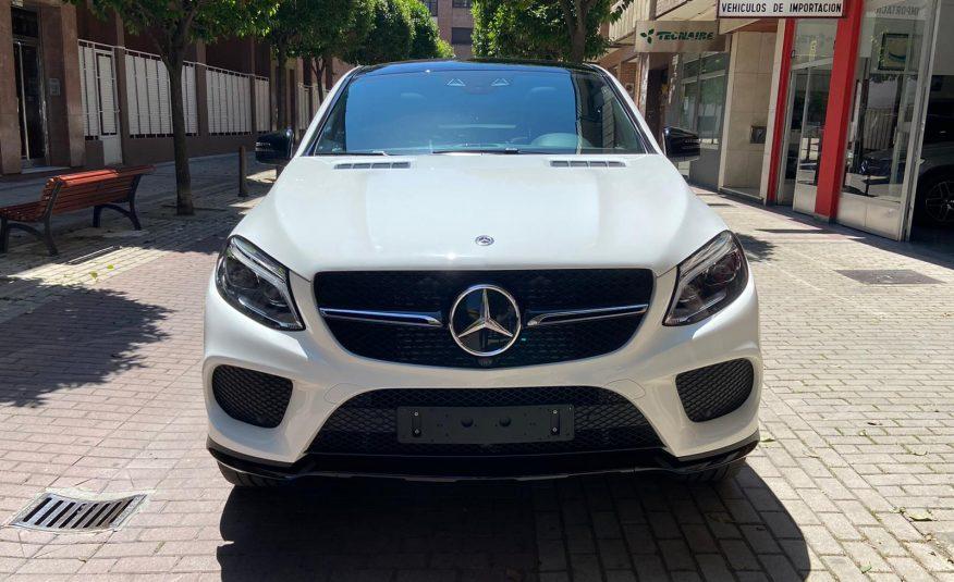 Mercedes Benz Gle Coupe Blanco